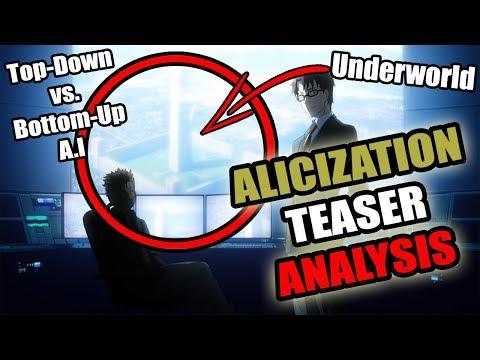 Sword Art Online Alicization Teaser Explained: RATH, Top-Down & Bottom-Up A.I