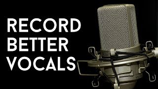 5 Tips for Recording BETTER Vocals - The MORNING MINUTE