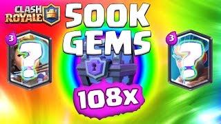 Clash Royale ★ 500,000 GEMS