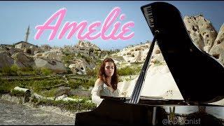 Amelie Comptine d'un autre été on Piano in UNSECO World Heritage Site Cappadocia | AyseDeniz