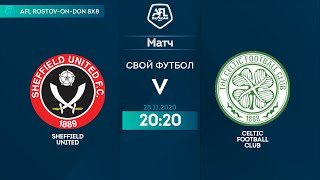 SHEFFIELD UNITED 2 2 CELTIC FOOTBALL CLUB 17 тур Англия