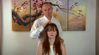 ASMR Role Play Relaxation Session with an ASMR Artist 4 - Hair, Brushing & Crinkle