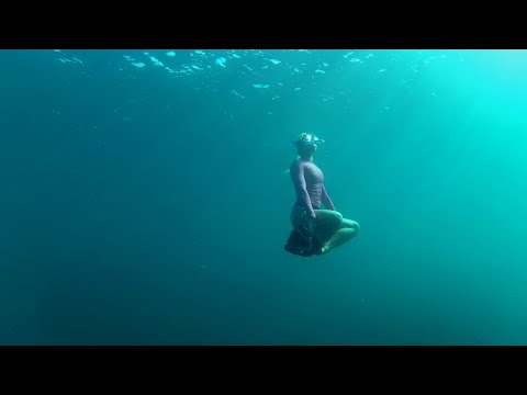 Freediving - Orient Bay - Behind the road - Saint-Martin 2020