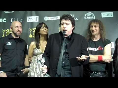 Sacha Gervasi & Anvil at 25th Film Independent Spirit Awards (2010)
