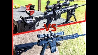 Which is Better? LMT LM8 MWS vs. KAC SR-25 E2 APR