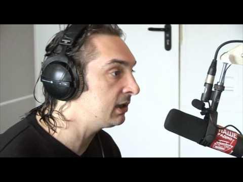 Михаил Горшенёв («Горшок») в студии НАШЕго Радио