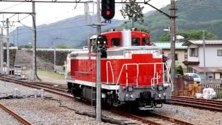 東武鉄道 蒸気機関車 大樹 鬼怒川温泉駅 入れ換え作業