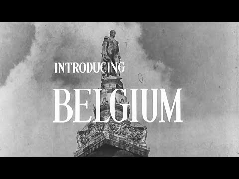 Introducing 🇧🇪Belgium [The Atlantic Community Series - NATO Documentaries, 1955]