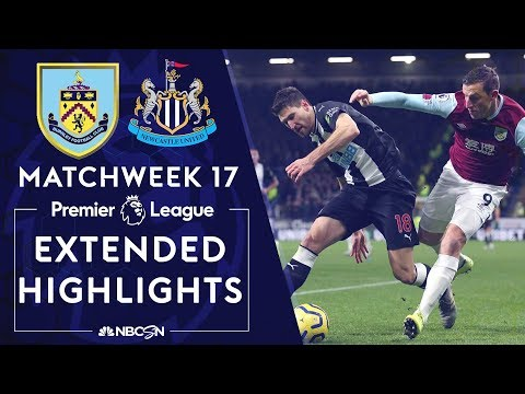 Burnley v. Newcastle United   PREMIER LEAGUE HIGHLIGHTS   12/14/19   NBC Sports