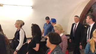 Том Харди гуляет по Москве!/Tom Hardy walking in Moscow!