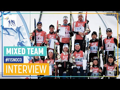 Norway claims first-ever COC Mixed Team win | FIS Nordic Combined