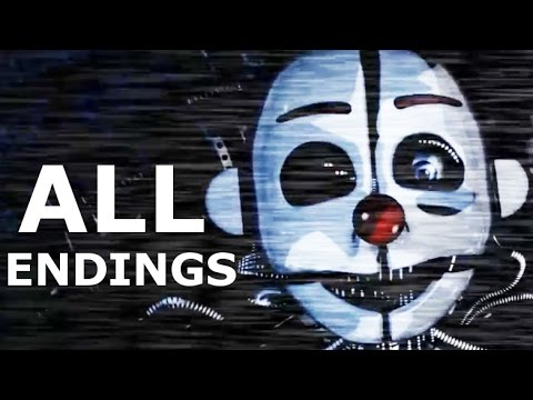 Download Five Nights at Freddy's Sister Location ALL ENDINGS (FNAF 5 Scooping Room & Private Room Ending)