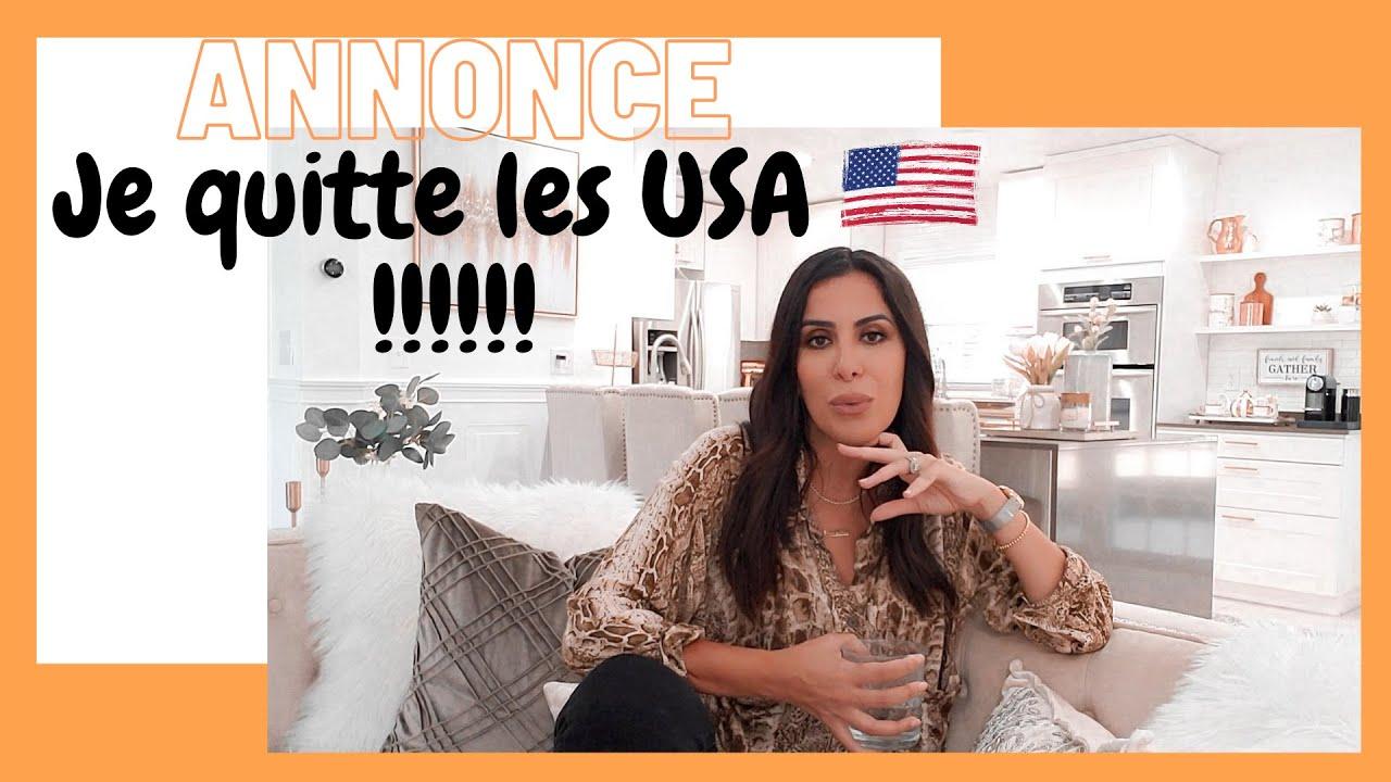 JE QUITTE LES USA 🇺🇸 !!!! Beaucoup de choses à vous raconter !!! la Vie, mon Parcours, mon Histoire