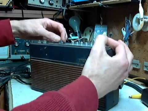 Telefunken Partner Universal 306 AM/FM/SW Radio - Checkout and Repair