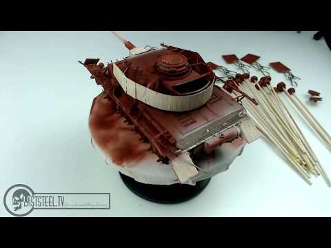 """Panzer IV chapter two """"Red Primer"""" and Mission Models Colors"""