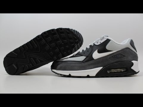 Nike Air Max 90 Essential Black White Dark Grey