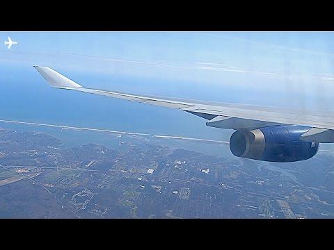 British Airways B747-400 Sunny Afternoon Landing at New York JFK-  6th April 2016- WITH ATC!!