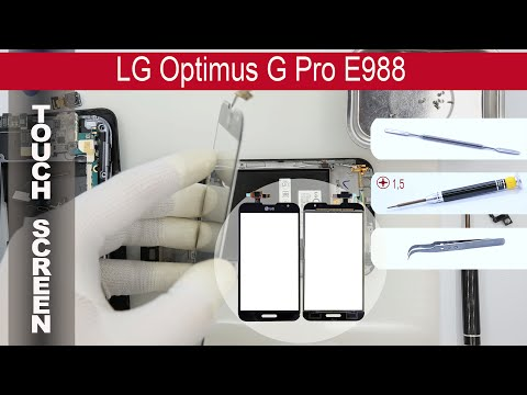 How to replace 🔧 digitizer (touch screen) LG Optimus G Pro E988