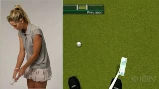 Tiger Woods PGA Tour 11 with Anna Rawson