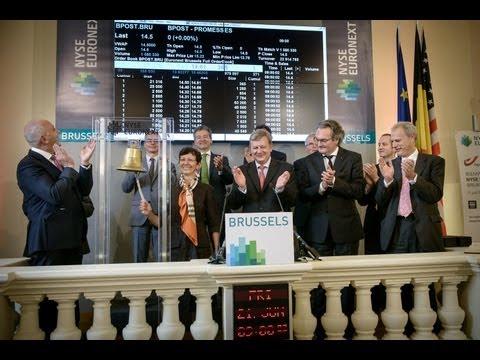 NYSE Euronext Brussels: Introduction en bourse - Beursintroductie bpost