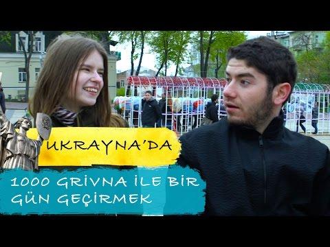 UKRAYNA'DA 🇺🇦 1000 GRİVNA İLE BİR GÜN GEÇİRMEK!