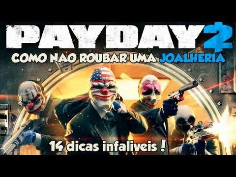 Payday 2 - COOP - Como não roubar uma joalheria + dicas infalíveis!