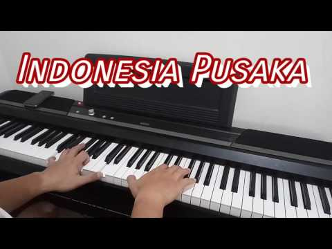 Indonesia Pusaka (Indonesia Tanah Air Beta) - Solo Piano #IndonesiaOne