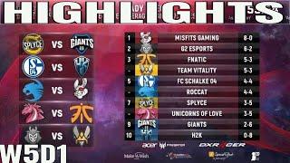 EU LCS Highlights ALL GAMES Week 5 Day 1 Full Day Highlights Summer 2018