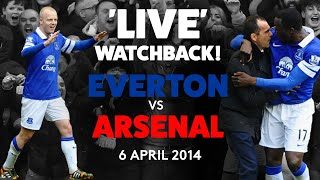 LIVE FULL GAME EVERTON 3 0 ARSENAL 6 APRIL 2014