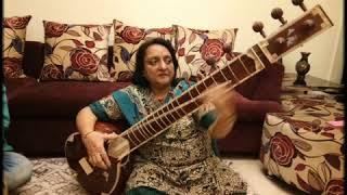 Sitar recital by Dr. Madhubala Srivastava (Bhatiyali dhun)