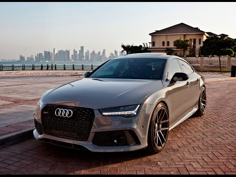 2017 Audi RS7 Sportback (1 of 1) special order Nardo Gray + crazy interior. (details, launch etc)