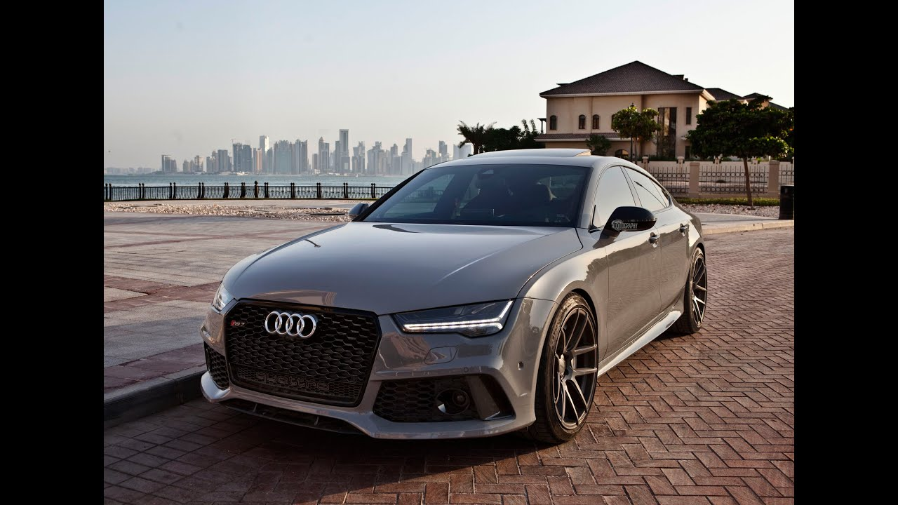 2017 audi rs7 sportback 1 of 1 special order nardo gray crazy interior details launch etc. Black Bedroom Furniture Sets. Home Design Ideas