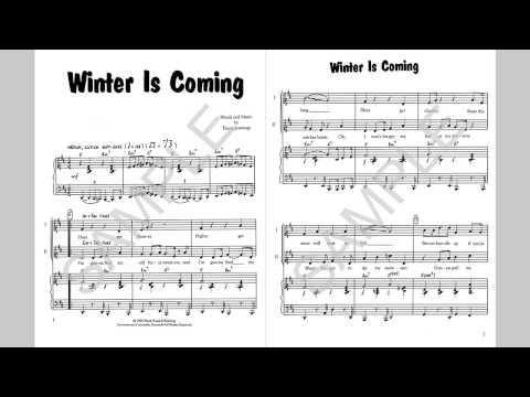 Winter Is Coming - MusicK8.com Singles Reproducible Kit