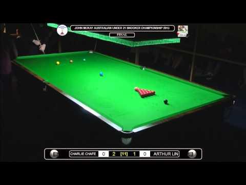 John McKay Australian U/21 Snooker Championship 2013 Final 1of2