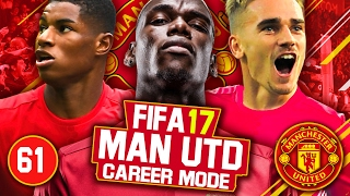 fifa 17 career mode manchester united 61 everton liverpool villarreal