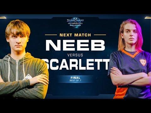 Grand Final: Neeb vs Scarlett PvZ - WCS Challenger 2018 Season 3 – NA