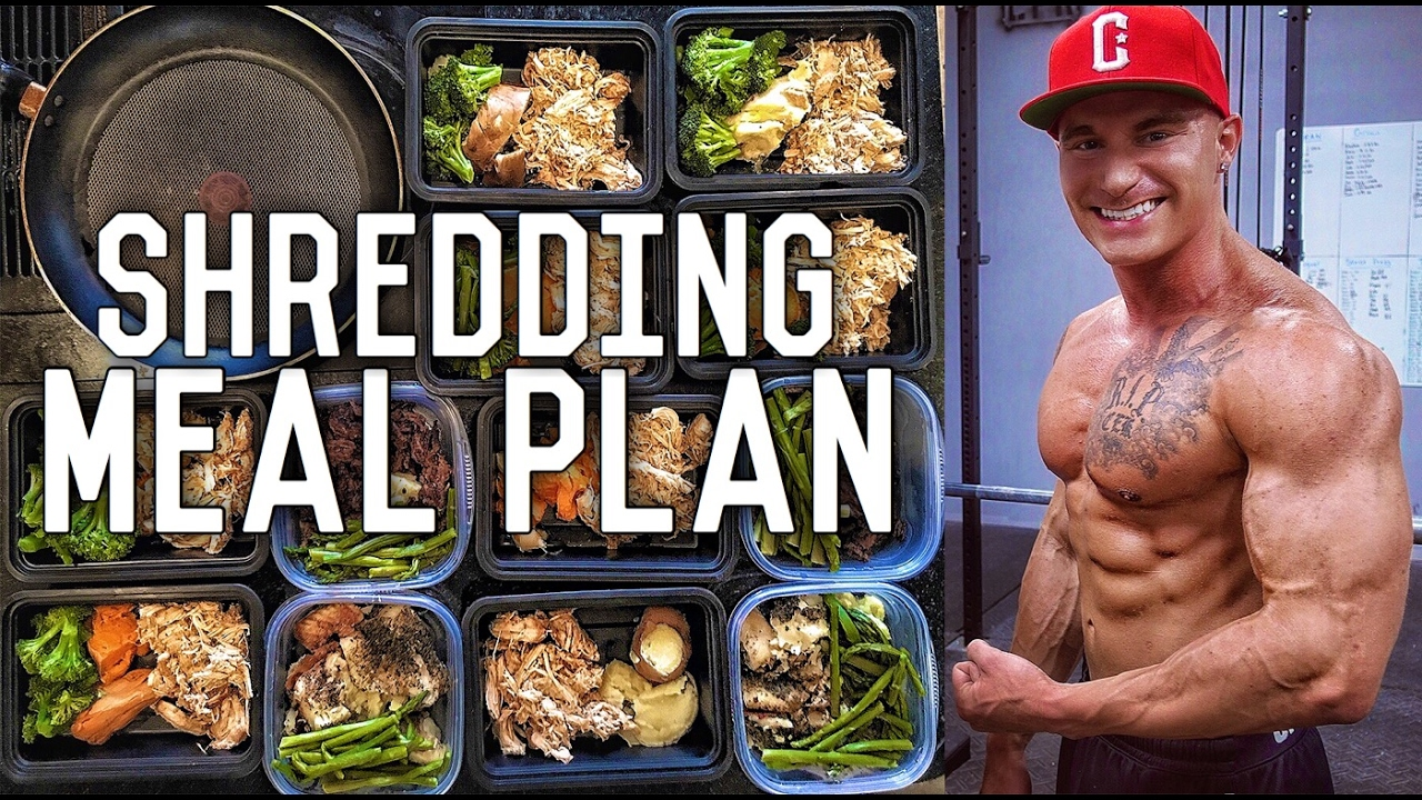 shred workout plan and diet