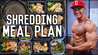 Beach Body Shredding Diet | Meal By Meal | Full Meal Plan