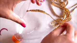 Como hacer un Farol pota velas Con una Botella Plastica