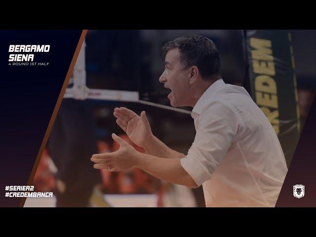 EMMA VILLAS AUBAY SIENA | 4° RS #BergamoSiena - Coach Gianluca Graziosi