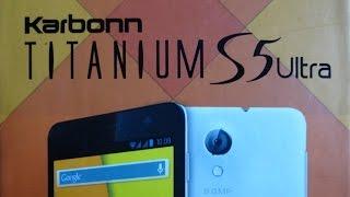 Karbonn Titanium S5 Ultra Unboxing
