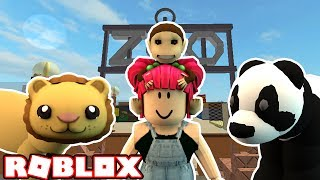 I LOVE THE ZOO! | Roblox! ESCAPE THE ZOO! | Amy Lee33
