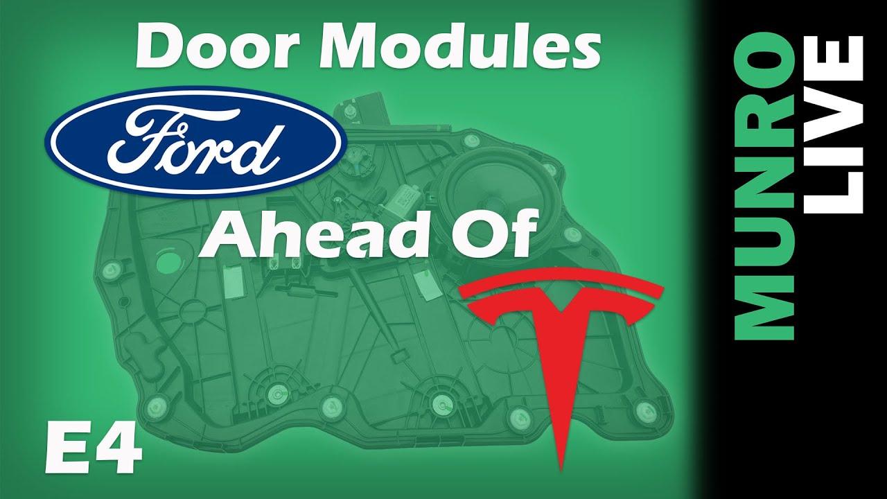 Mach-E Door Modules Better than Tesla!?