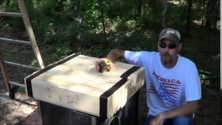 ak vs 300 blackout wood test