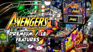 Avengers: Infinity Quest Pinball - Premium/LE Model Game Features
