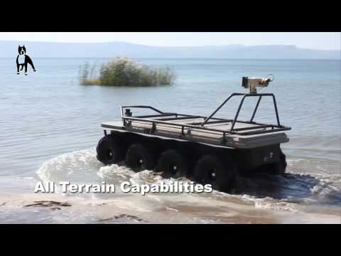 Amstaf UGV - Automotive Robotic Industry Ltd.