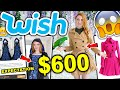 WISH HAUL | I SPENT $600 ON WISH CLOTHING!!! HUGE TRY ON HAUL 2019