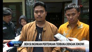 Aliansi BEM SI Batalkan Pertemuan Dengan Jokowi