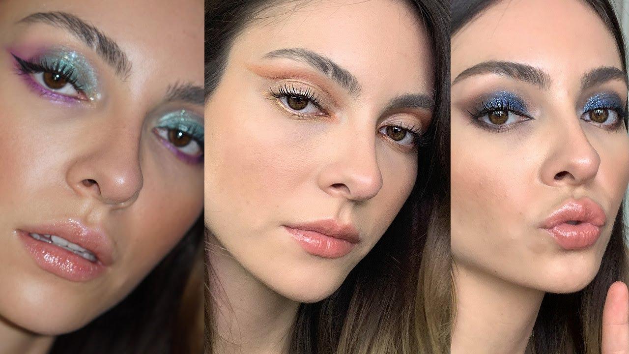 3 maquillajes de VERANO usando REVLON + outfit  | Anna Sarelly