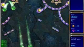 Hyperballoid 2: Time Rider gameplay, Original World Level 5 / Гиперболоид 2